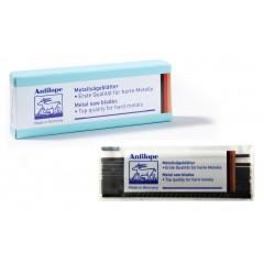 Brzeszczoty włosowe do metalu Niqua ANTILOPE Blue 130 mm