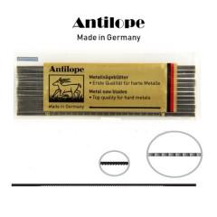 Brzeszczoty włosowe do metalu Niqua ANTILOPE Yellow 130 mm