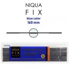 Brzeszczoty włosowe NIQUA FIX BLUE, 160 mm