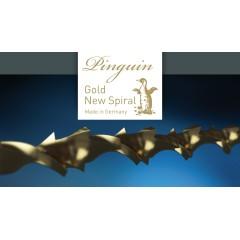 Brzeszczoty włosowe spiralne PINGUIN GOLD NS 130 mm, 12 szt