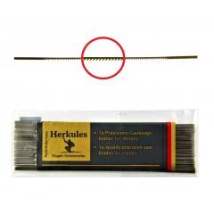 Brzeszczoty włosowe do metalu NIQUA HERKULES, 130 mm