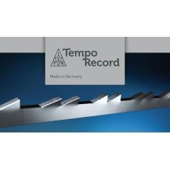 Brzeszczoty, podwójny ząb Niqua TEMPO RECORD Silver