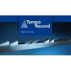 Brzeszczoty włosowe, podwójny ząb TEMPO RECORD BLUE