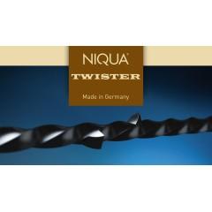 Brzeszczoty włosowe spiralne Niqua TWISTER 130 mm