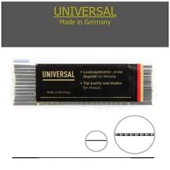 Brzeszczoty włosowe do metalu Niqua UNIVERSAL 130 mm