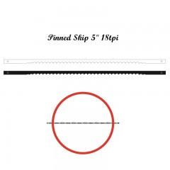 Brzeszczoty włosowe z bolcem NIQUA 134 mm, 18 tpi.
