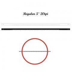 Brzeszczoty włosowe z bolcem NIQUA 134 mm, 20 tpi.