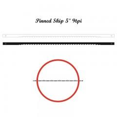 Brzeszczoty włosowe z bolcem NIQUA 134 mm, 9 tpi.