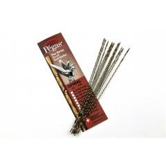 Brzeszczoty włosowe spiralne Pegas SPIRAL 130 mm, 12 szt