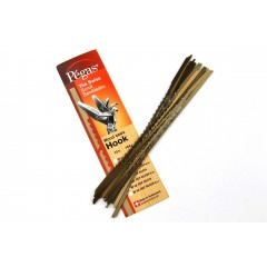 Brzeszczoty włosowe Pegas SUPER-HOOK 130 mm, 12 szt