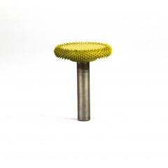 """Frez do drewna Saburrtooth w kształcie """"dysk"""" 6x25x5 mm. Drobna ziarnistość."""